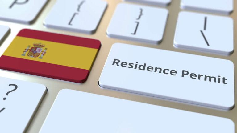 ВНЖ в Испании без права на работу.